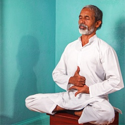 Yoga therapist Master Sri Chandran